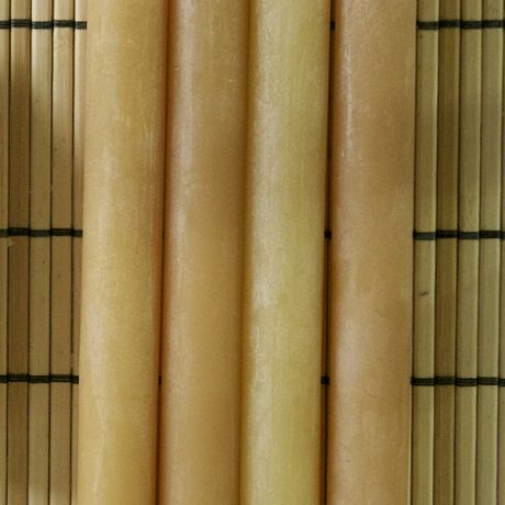 Beeswax Large Taper Candles